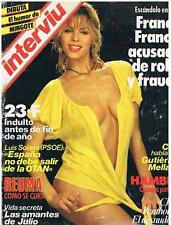 INTERVIU # 421 / JEANNETTE STARION 6 pages pictorial ANA OBREGON 4 pages