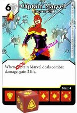 110 CAPTAIN MARVEL Inspiration -Rare- AGE OF ULTRON Marvel Dice Masters
