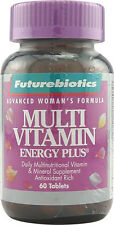Multi Vitamin Energy Plus for Women, Futurebiotics, 60 tablets
