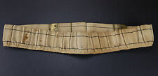 1905 Mills Canvas Cartridge Belt 20ga Shotgun Shell Ammo Bandolier 20 Gauge