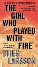 The Girl Who Played with Fire by Stieg Larsson - Paperback book