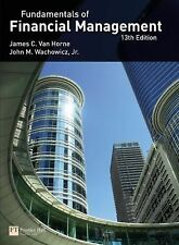 Fundamentals of Financial Management  Wachowicz, J. Van Horne US 13th Edition