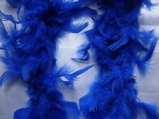 Royal Blue Feather Boas Hen Night Party Fancy Dress
