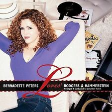 Bernadette Peters Loves Rodgers and Hammerstein CD 2002 Angel Records