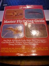 PB BOOK ART FLICK'S MASTER FLY TYING GUIDE, COLOR PICS of FLIES, FISHING  HOW TO