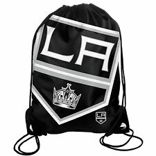 LA Los Angeles Kings Back Pack/Sack Drawstring Bag/Tote NHL backpack BIG LOGO