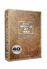 The World At War Complete DVD 11 Discs Collection Box Set 11 Featurettes NEW