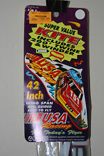 Vintage 1992 Gayla USA Racing Kite 42 Inch Wingspan Sealed New Nascar Race Car