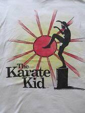 Original THE KARATE KID Crane Kick graphic Ralph Macchio T-shirt Men's EUROCUT S