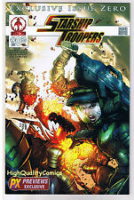 STARSHIP TROOPERS #0, VF, Previews Exclusive, Bugs, 2006, more SCI-FI in store