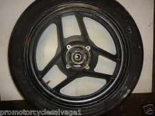 KAWASAKI GPX 750 R 1989 1990 1991:WHEEL - REAR (NO TYRE):USED MOTORCYCLE PARTS
