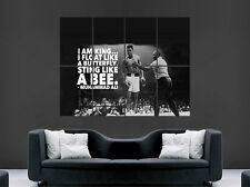 MUHAMMED ALI POSTER LEGEND BOXING SPORT ART  WALL PICTURE PRINT LARGE CLASSIC