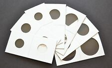 5000 2x2 ASSORTED CARDBOARD MYLAR COIN HOLDERS YOU CHOOSE SIZES!! NEW!