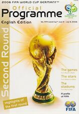 WORLD CUP 2006 KNOCK OUT STAGE MINT PROGRAMME
