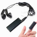 8GB Spy Bug Micro Digital Voice Sound Recorder + MP3 Player Misic Headphone AU