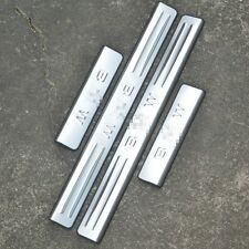 4Pcs Stainless Steel High Quality Door Sill Scuff Plate For  BMW X5  2014-2016