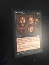 MTG MAGIC WEATHERLIGHT BURIED ALIVE (ENGLISH ENTERRE VIVANT) NM