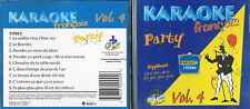 Karaoke CD+G Party Francais Vol.4 CDG BRAND NEW at MusicaMonette from Canada