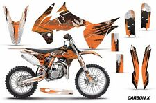 AMR Racing Graphics Kit KTM SX 85 Bike Decal Wrap Sticker Part 13-15 CARBON X O