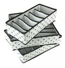 3 Pack.Storage soloution box wardrobe organiser drawer organiser socks bra 3BL