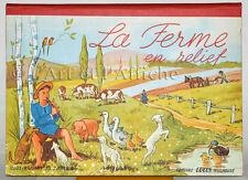 LA FERME EN RELIEF, JO ZAGULA Editions Lucos. POP UP, Livre animés POP HOP books