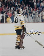 Autographed Boston Bruins Gerry Cheevers 8x10 Photo