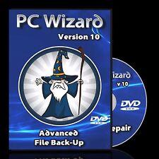 Backup Recover Repair Boot Windows 7 8 XP Vista - Restore Fix Drivers DVD Disc