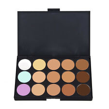 15 Colors Concealer Palette Makeup Neutral Face Eye shadow Camouflage Cosmetic