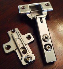 Grass Hinge #1800-63 100° Full Olay with 0mm Base Mount Plate 1000 Series
