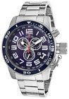 NEW Invicta Men's 17098 Corduba Stainless Steel w/ Blue Dial Watch chronograph