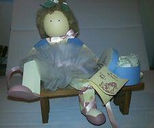 LIZZIE HIGH DOLL Vanessa High  Ballerina Wooden Bench