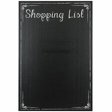 Shopping List Chalkboard Wall Sticker Self Adhesive Chalk Memo Black Board