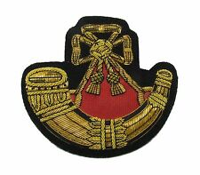 Badge Light Infantry Embroidered Bullion Blazer Badge Gold Army Military R1672
