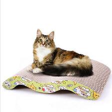 Katze Kratzbrett Kratz Pappe Kratzmatte Kratzteppich Katzenspielzeug mit Catnip
