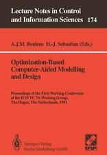 Optimization-Based Computer-Aided Modelling and Design: Proceedings of the First