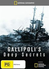 National Geographic: Gallipoli's Deep Secrets NEW R4 DVD