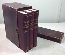 SUPER RARE Studies in the Scriptures 1-3 Boxed Set Watchtower Jehovah Russell