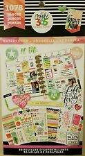 NEW!!! MAMBI Create 365 The Happy Planner STICKER BOOK (Water Color 1078pc)