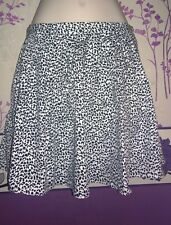 Leopard Print Skirt Size S/M BNWT perfect for spring summer and warm weather