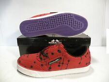 "DC CW GATSBY LOW ""OMAR QUIAMBAO SKATE SNEAKERS MEN SHOES RED 300667 SIZE 11 NEW"