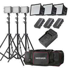 Neewer CN-160  LED Video Light Kit with Deluxe Bag for Canon Nikon Sony DSLR