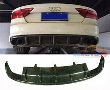 DTM Style Real Carbon Fiber Rear Diffuser For Audi A7 S7 RS7 2012UP A067