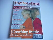 PSYCHO ENFANTS -  DONNER LE MEILLEUR coaching fratrie en finir avec les disputes