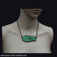 Kreepsville666 Dead Girl Coffin Necklace. Gothic. Horror/Gore. Halloween. Zombie