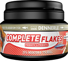 Dennerle Premium Fish Food: Complete Gourmet Flakes 100ml for All Fish
