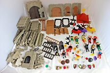 Lot Playmobil Geobra Midieval Castle Vintage 1974 Knights Accessories 3667 Horse