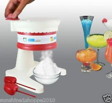 Handy Ice Shaver / Gola /Slush Maker / Ice Crusher with 2 Heart Shaped Moulds