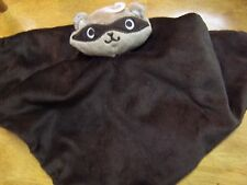 NWOT GYMBOREE Vintage Brown RACOON RACCOON SECURITY BLANKET TOY Free US Shipping