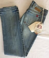 Bloom Jeans Women Size 42 Small Italian Denim Slim Straight European Design NWT