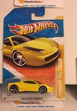 Ferrari 458 Italia #34 * YELLOW * 2010 Hot Wheels * Y64